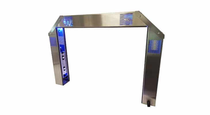 Décontamination: Avec UV Sanitizer Portal, HTDS s'attaque aux surfaces contaminées par le Covid-19