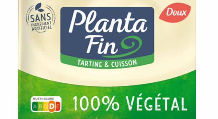 Upfield se lance dans l'emballage biodégradable avec sa margarine végétale en plaquette