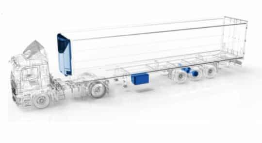 Carrier Transicold lance un système de réfrigération tout électrique et autonome