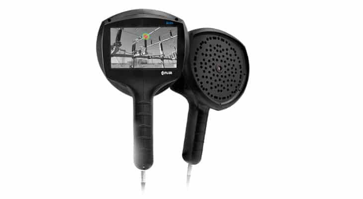 Fuites de pression : Utilisez la caméra d'imagerie acoustique industrielle