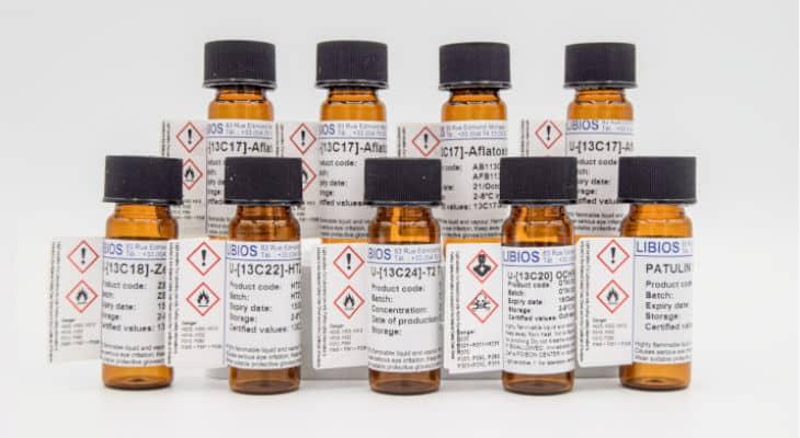 LIBIOS révolutionne le marché des mycotoxines en lançant sa nouvelle gamme LIB'UP® d'étalons internes marqués aux isotopes stables (13C)