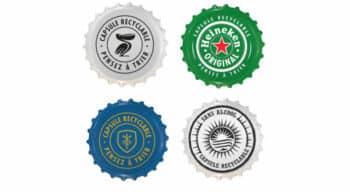 Pour inciter les consommateurs à recycler leurs capsules de bière, Heineken communique dessus !