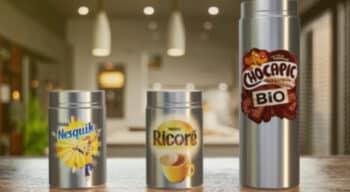 Avec les emballages réutilisables Nesquik, Ricoré et Chocapic Bio, Nestlé amorce sa transition vers des emballages plus durables