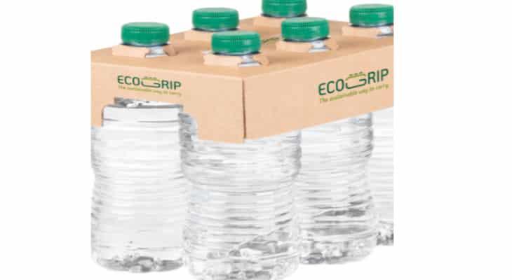 VPK Groupe lance Ecogrip, une solution durable pour les packs de bouteilles