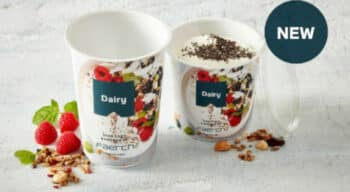 Produits laitiers : Faerch lance une nouvelle gamme de produits recyclés mono-PET pouvant résister à la stérilisation à haute température