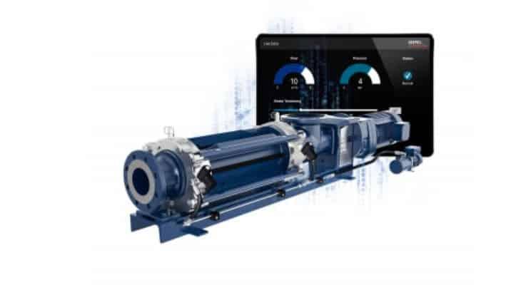 Pompe à vis excentrée : Seepex digitalise la technologie SCT