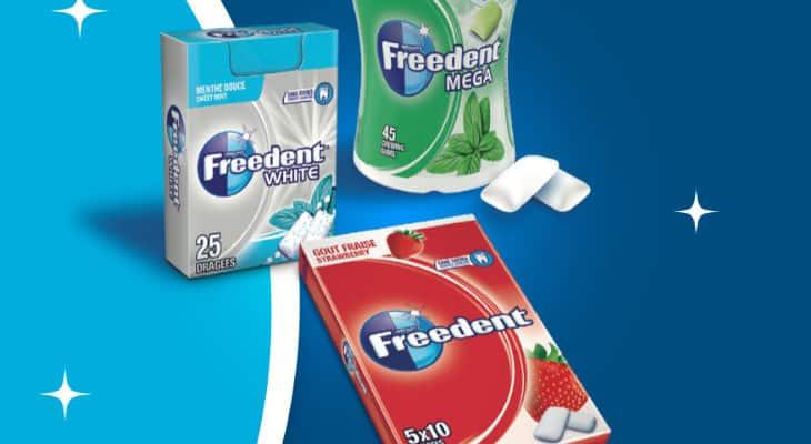 Le chewing-Gum sans sucres séduit !