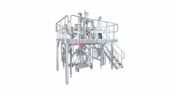 Le nouveau skid de formulation Gericke automatise l'alimentation, le pesage et le mélange en une seule unité