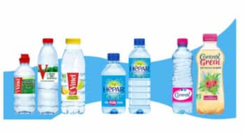 Emballage : De nouveaux formats de bouteilles 100% plastique recyclé pour les marques Vittel, Hepar et Contrex