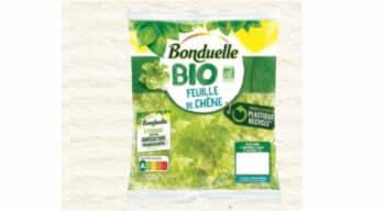 Emballage : Bonduelle supprime le couvercle plastique de ses barquettes et lance un sachet durable pour ses salades bio