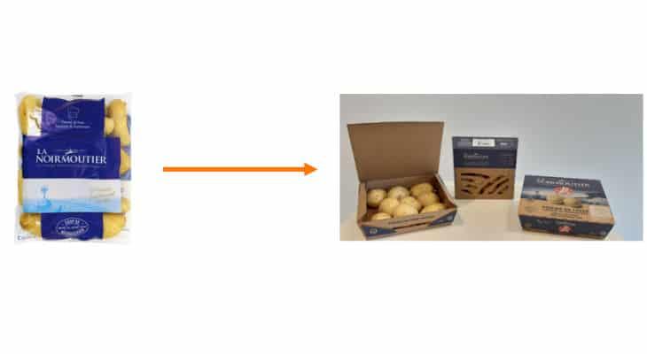 Emballage : La Coopérative Agricole de Noirmoutier substitue le plastique à usage unique en collaboration avec DS Smith
