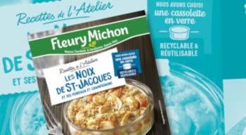 Fleury Michon opte pour des cassolettes en verre 100% recyclables grâce à un partenariat avec Verallia