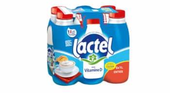 Lactel adapte sa gamme de laits classiques