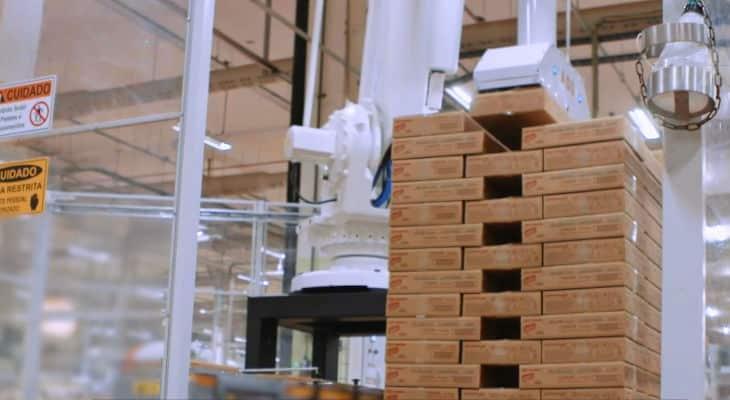 Palettisation : Nestlé opte pour des robots et accroit la productivité de ses usines brésiliennes de plus de 50%