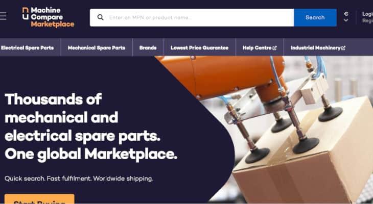 Machine Compare lance sa marketplace de pièces de rechange pour révolutionner les achats industriels