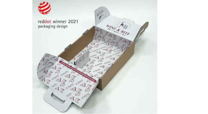 La solution d'emballage de Smurfit Brazil remporte le Red Dot Design Award 2021