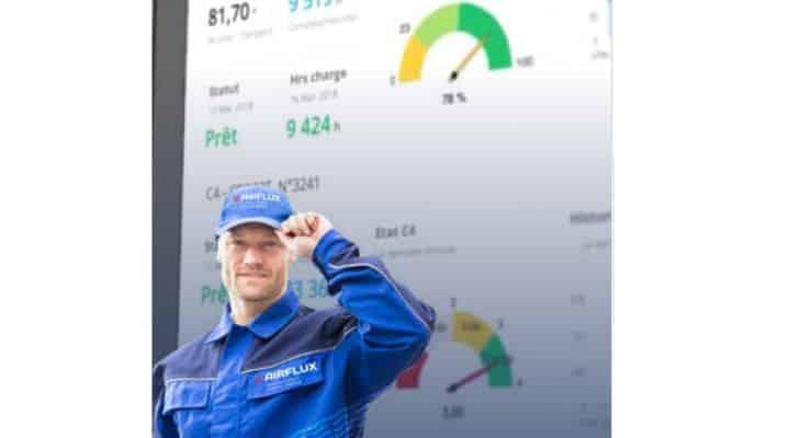 Airflux : Maîtrisez votre production d'utilités en temps réel avec AF Connect, quelle que soit la marque de vos machines