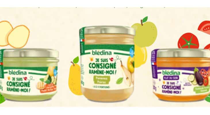 Petits pots consignés : Blédina expérimente la consigne avec le lancement d'une gamme dédiée pour les bébés