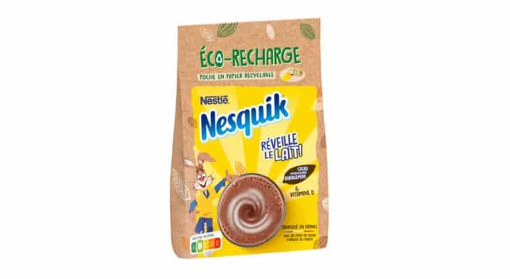 Emballage : Nesquik lance deux nouvelles références éco-responsables