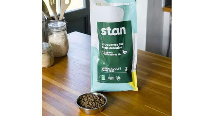Petfood : La marque française Stan lance sa gamme de croquettes bio