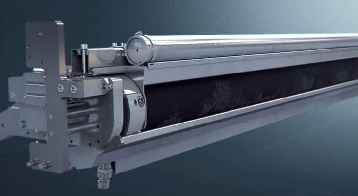 Impression : Baldwin dévoile le FlexoCleanerBrush ultra-large pour carton ondulé