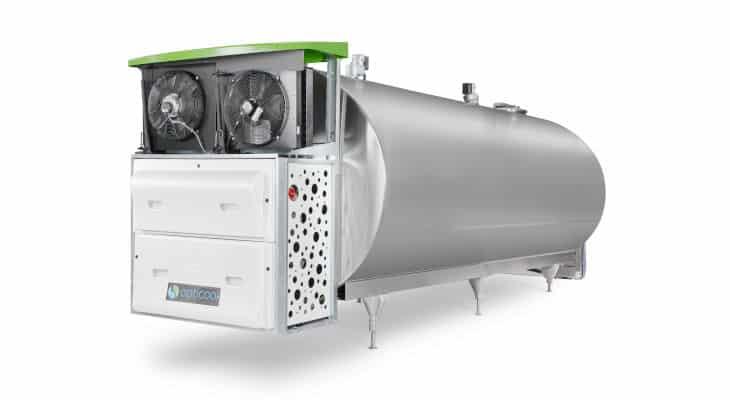 Le nouveau refroidisseur de lait Opticool de Serap se veut durable et économe