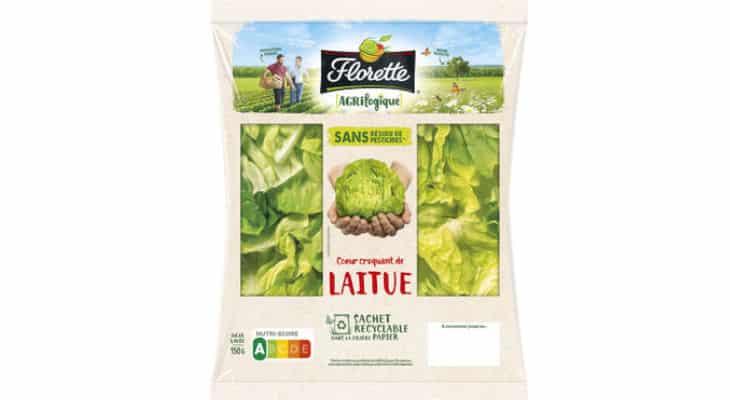 Emballage : Pour ses sachets en salade, Florette passe au papier recyclable