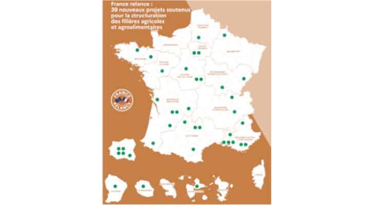 France Relance : 39 nouveaux projets de structuration des filières agricoles et agroalimentaires