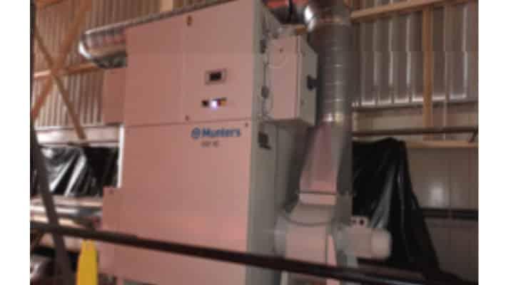 Euroserum équipe son usine d'un déshydratateur Munters